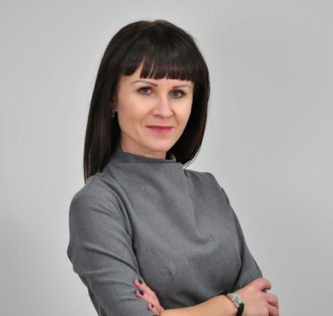 """Przewodnicząca Katarzyna Kalinowska w audycji w """"Radiu Rekord"""""""