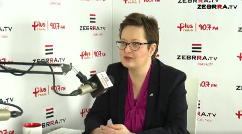 Przewodnicząca Nowoczesnej Katarzyna Lubnauer o wyborach samorządowych w Radomiu.