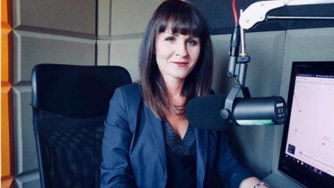 """Katarzyna Kalinowska w """"Porannej Rozmowie"""" w Radio Rekord."""