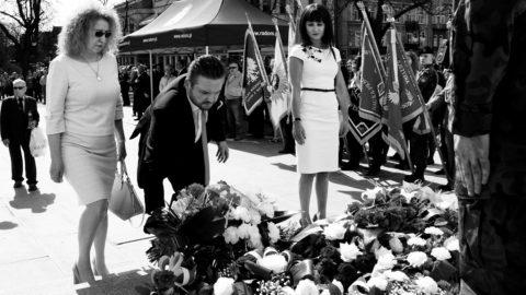 Radomskie obchody 8 Rocznicy Katastrofy w Smoleńsku.