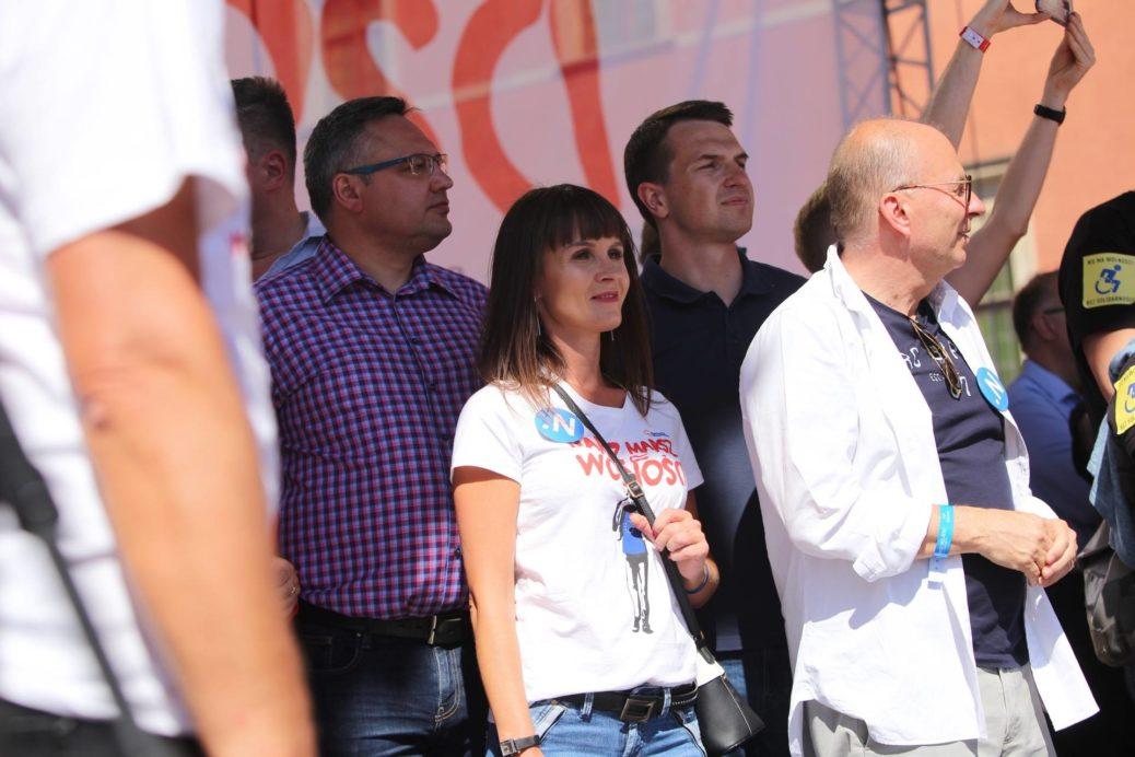 Radom na Marszu Wolności w Warszawie.