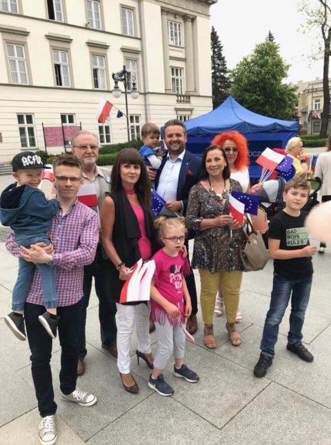 Dzień Flagi RP w Radomiu.