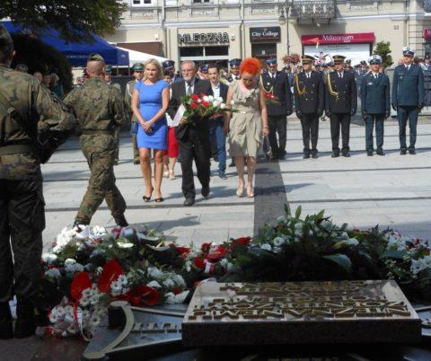 Obchody Święta Wojska Polskiego w Radomiu.