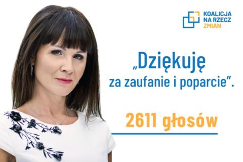 Katarzyna Kalinowska Radną Rady Miejskiej w Radomiu.