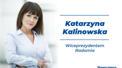 Katarzyna Kalinowska powołana na stanowisko zastępcy Prezydenta Radomia.