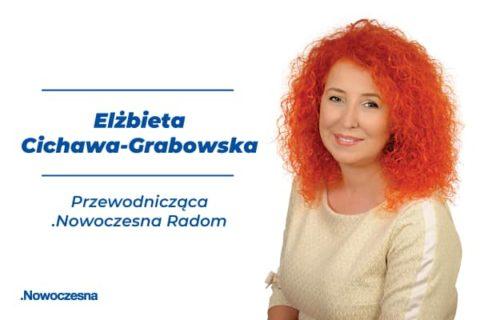 Elżbieta Cichawa – Grabowska nową Przewodniczącą struktur w Radomiu.